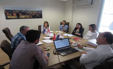 ANKARA GİRİŞİM Projesi 7. Aylık Yönetim Toplantısı Yapıldı