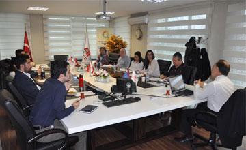 ANKARA GİRİŞİM Projesi 8. Aylık Yönetim Toplantısı Yapıldı